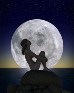 Abnehmen nach dem Mond